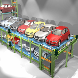 Multi Level Circulation Parking System
