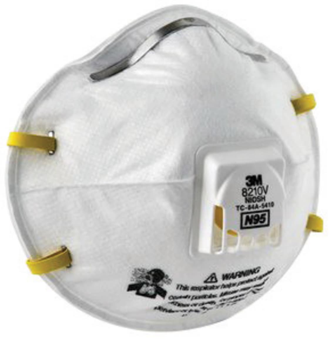 Disposable 3m™ Respirator Particulate Standard Wit 8210v N95