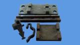 Shoulder/ Rail sleeper Inserts/ Rail Anchors for rail sleepers