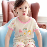 Withorganic mid _ short sleeve pajama