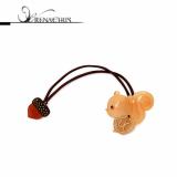Acorn ponytail holder