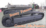 Steel crawler track chasis undercarriage(OEM)