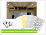 Environmental Natural Cotton Coating Sound Absorption Board