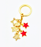 High End Star Cubic Bag Charm Key Ring