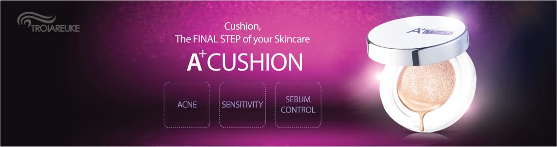 TROIAREUKE A_CUSHION_ Skin Care Cushion_ Make up Cushion