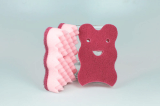 Antibacterial Both Sided Soft Scrubber