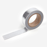 Masking Tape single _ 30 Dot _ silver