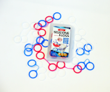 Silicone dental floss