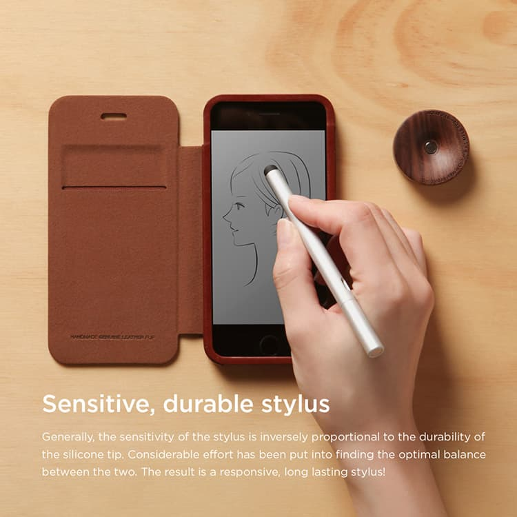 Stylus Allure Wood Stand