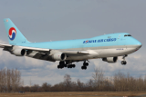 Air freight between South Korea and The Netherlands