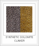 Synthetic Dolomite Clinker
