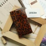 Phone case_ Designs Leather Case_ Leopard