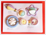 4PCS Rattle Set