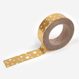 Masking Tape single _ 38 Starry _ gold