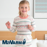 MAVARM Kids clothes_Orange Nordic