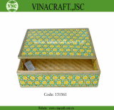 Bamboo Weaving gift box Bamboo Weaving storage box