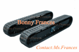 OEM rubber track undercarriage track frame
