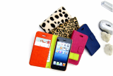 FOR APPLE IPHONE5 PU LEATHER CASE AND FOR APPLE IPHONE5 MAGIC SOFT PLUS