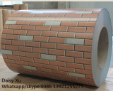Brick pattern color coated PPGI coils