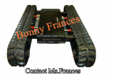 OEM Extendable rubber track undercarriage
