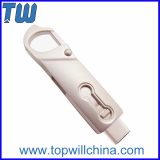 Full Metal Twister Usb 3_1 Type C Flash Drive with Buckle