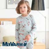 MAVARM Kids clothes_Mint Airplane