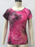 Short Sleeve Ladies Yoga Top