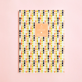 American Arrows Pattern Ruled Notebook