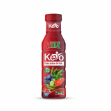 360ml VINUT Keto Pete Juice drink_Asparagus_ Blueberries_ Tomato_ Cucumber and Pepper_