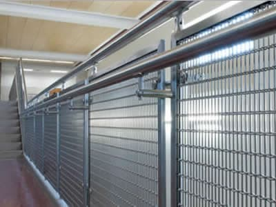 Decorative Wire Mesh for Indoor and Outdoor Railing Use