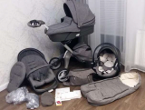 Original new Stokke Xplory V4 Original 3 in 1 baby stroller