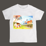 Kids illust graphic T-shirt series No.1