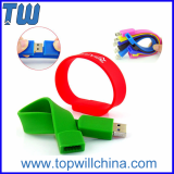 Flexible Silicone Wristband Bracelet Usb Thumb Drives