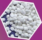 TITANDIOXITE-FILLER FOR OPAQUE BLOWING MOLD
