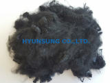 Polyester Staple Fiber _Black_