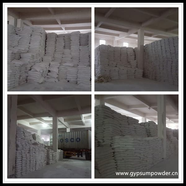 Natural Gypsum for Casting Beta Plaster JX Type