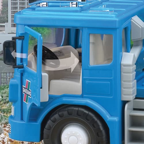 MAX CEMENT MIXER -plastic toy car-