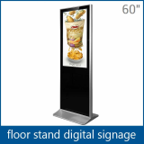 60 Inch Standing Lcd Advertising Media Player