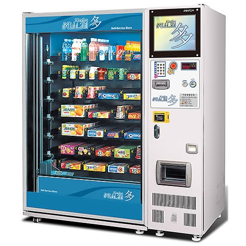 vending machine 24 7 for automated convenience store acs. Black Bedroom Furniture Sets. Home Design Ideas