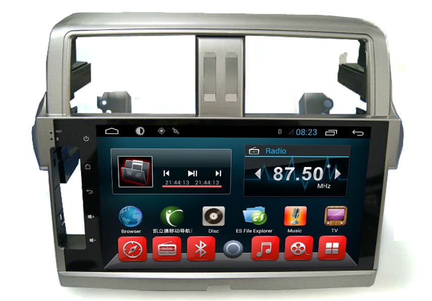 10 Inch Car Media Player Android Toyota Land Cruiser 2016