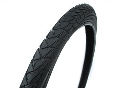Bicycle tyre and inner tube