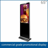 65 Inch Standing Lcd Advertising Media Player
