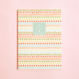 Azteca Patterns Ruled Notebook