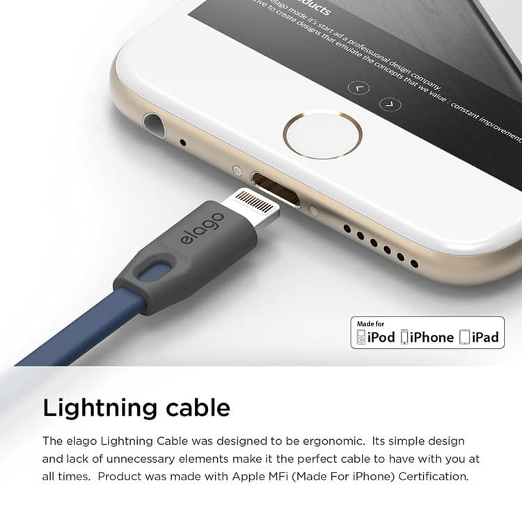 Tangle Free USB Cable for Apple devices_2
