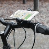 Smart phone bike holder