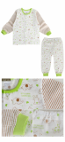 single layer long sleeves pajama set animal farm