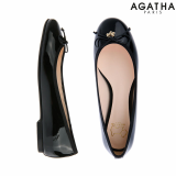 -Agatha- Scottie Ribbon Ballerina flat