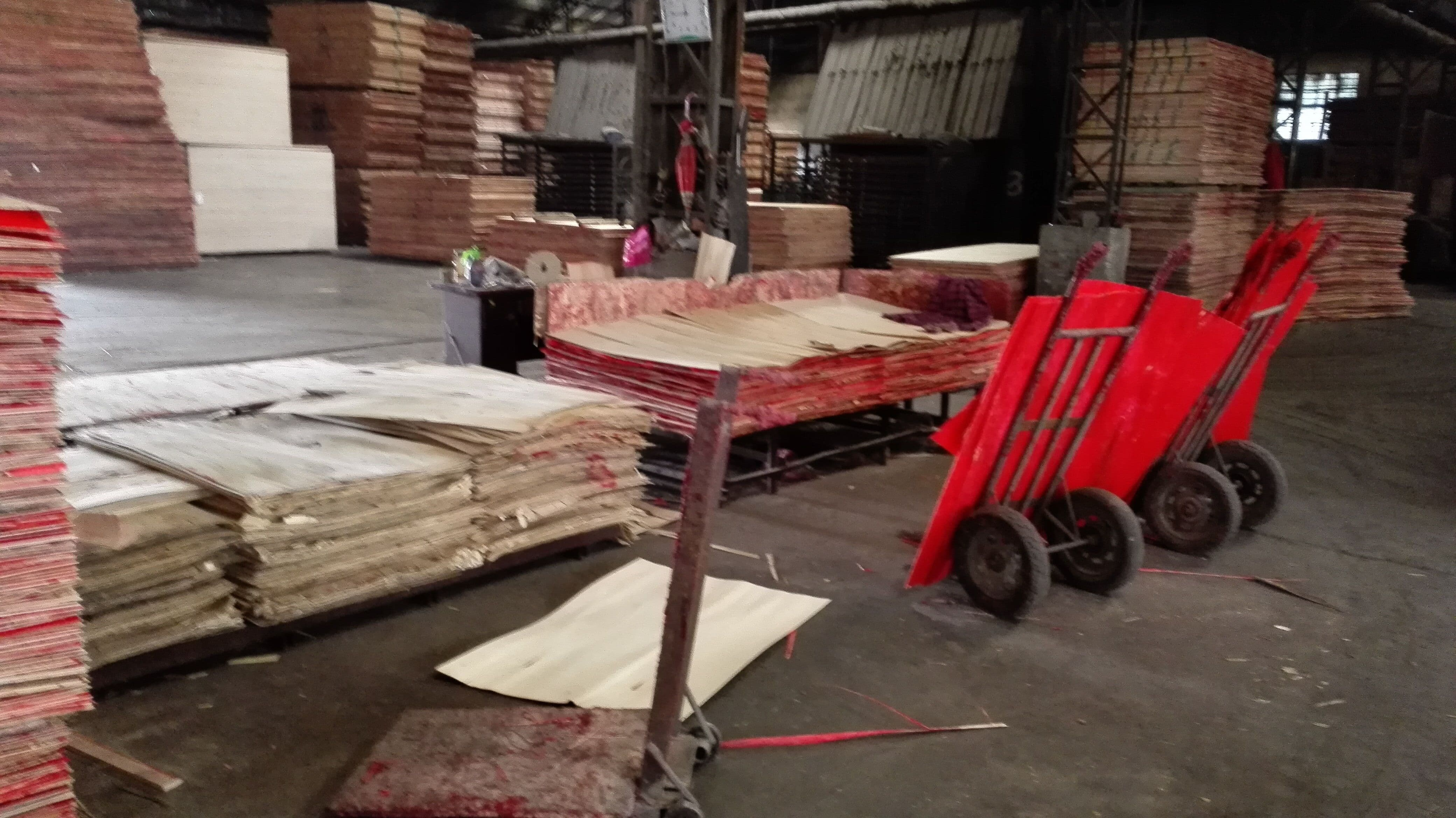 Hot sale bintangor okume packing plywood _Commercial Plywood from linyi factory