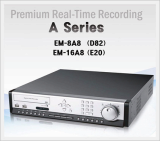 Premium Real-Time Recording A Series EM-8A8