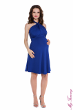 pregnancy clothing Maternity dress Marylin cobalt blue 5.jpg